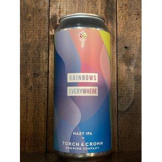Torch & Crown Rainbows Everywhere Hazy IPA, 6.9% ABV, 16oz Can