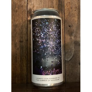 """Evil Twin NYC I Always Look Forward To """"The Summer Of Hedonism"""" DDH IPA, 6.9% ABV, 16oz Can"""