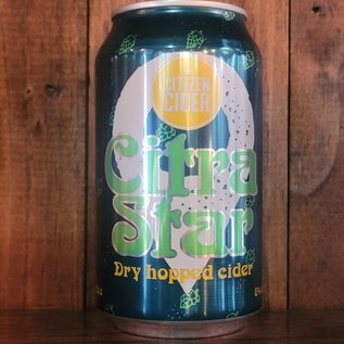 Citizen Cider Citra Star, 6% ABV, 16oz Can