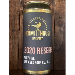 Hermit Thrush 2020 Reserve Sour Ale, 5.9% ABV, 16oz Can