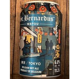 St. Bernardus Tokyo Wit Ale, 6% ABV, 11.2oz Can
