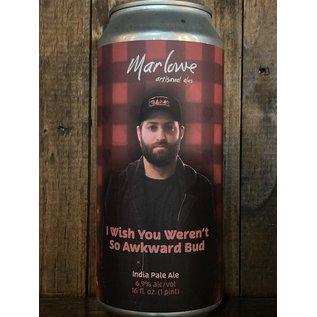 Marlowe I Wish You Weren't So Awkward Bud IPA, 6.9% ABV, 16oz Can