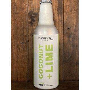 Elemental Coconut + Lime Mead, 6.9% ABV, 12oz Bottle