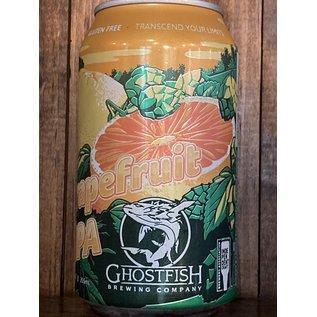 Ghostfish Gluten Free Grapefruit IPA, 5.5% ABV, 12oz Can