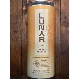 Lunar Yuzu Hard Seltzer, 4.9% ABV, 12oz Can