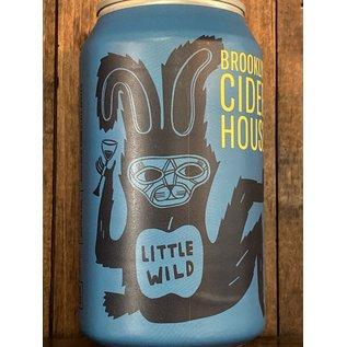 Brooklyn Cider House Little Wild Cider, 5% ABV, 12oz Can