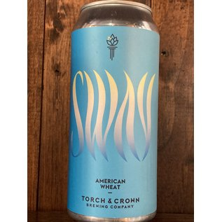 Torch & Crown Sway American Wheat Ale, 5.5% ABV, 16oz Can