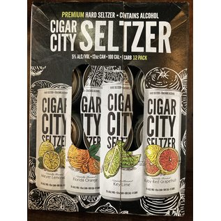 Cigar City Hard Seltzer Variety Pack, 5% ABv, 12oz Cans/12 Pack