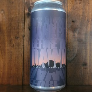 Swiftwater It's Always Dankest Before the Dawn West Coast Style IPA, 6.3% ABV, 16oz Can