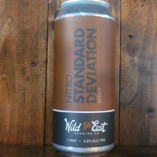 Wild East Nitro Standard Deviation Stout, 5.2% ABV, 16oz Can