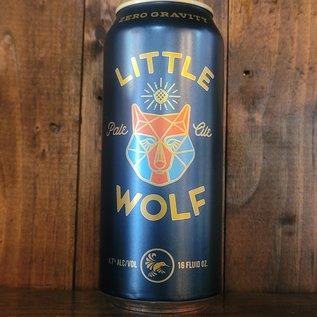 Zero Gravity Little Wolf Pale Ale, 4.7% ABV, 16oz Can