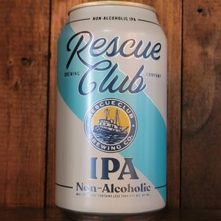 Rescue Club Non-Alcoholic IPA, less than 0.5% ABV, 12oz Can
