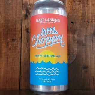 Mast Landing Little Choppy Hoppy Session Ale, 4.3% ABV, 16oz Can