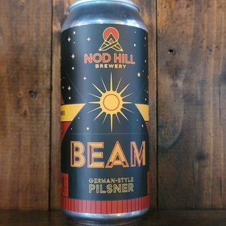 Nod Hill Beam German-Style Pilsner, 5% ABV, 16oz Can