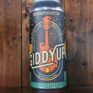 Nod Hill Giddyup Hop-Forward Pilsner, 5% ABV, 16oz Can