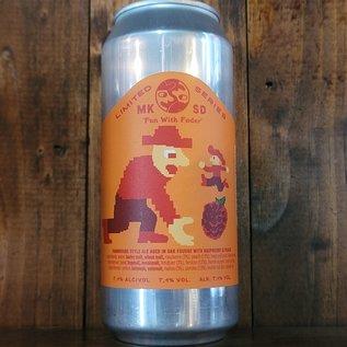 Mikkeller Fun With Foder: Raspberry & Peach Farmhouse Ale, 7.1% ABV, 16oz Can