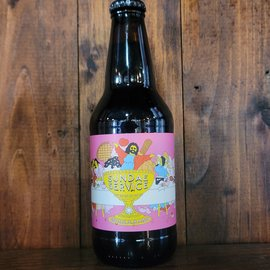 Prairie Sundae Service Bourbon BA Imperial Stout, 14.9% ABV, 12oz Bottle