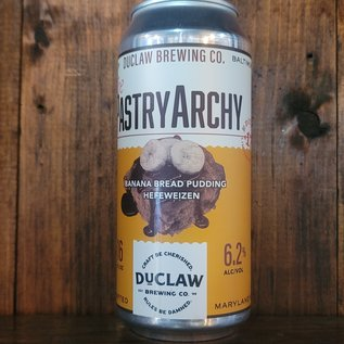 DuClaw PastryArchy Banana Bread Pudding Hefeweizen, 6.2% ABV, 16oz Can