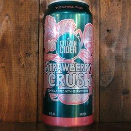 Citizen Strawberry Crush Hard Cider, 5.5% ABV, 16oz Can