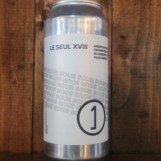 Une Annee Le Seul XVIII (Blueberry Passionfruit) Wild Ale, 6.5% ABV, 16oz Can