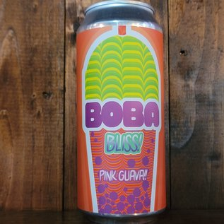 Front Porch / Skygazer Boba Bliss: Pink Guava Sour Ale, 5% ABV, 16oz Can