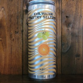 Evil Water Mimosa Pastry Hard Seltzer, 5% ABV, 12oz Can
