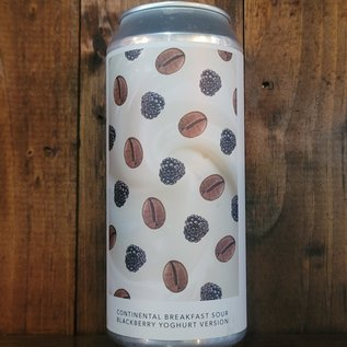 Evil Twin NYC Continental Breakfast Sour Blackberry Yoghurt Version Sour Ale, 7.5% ABV, 16oz Can