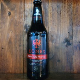 Browar Fortuna Komes Raspberry Baltic Porter, 8.5% ABV, 500ml Bottle
