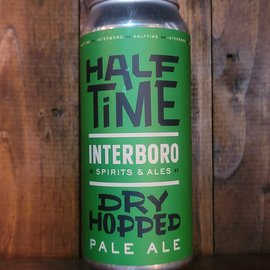 Interboro Half Time Dry Hopped Pale Ale, 4% ABV, 16oz Can