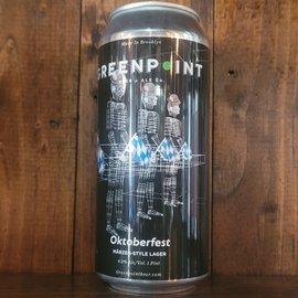 Greenpoint Oktoberfest Märzenbier, 6% ABV, 16oz Can