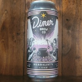 Diner Brew Herbalist's Cider, 6.9% ABV, 16oz Can