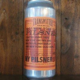 Transmitter NY6 Pilsner, 5.2% ABV, 16oz Can