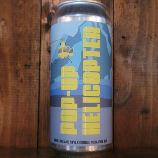 Cushwa Pop-Up Helicopter NE DIPA, 8% ABV, 16oz Can