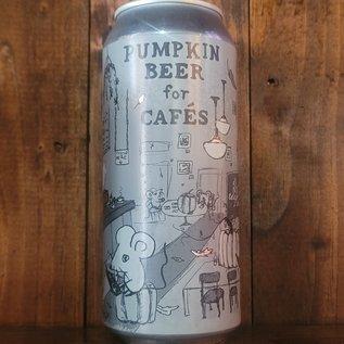 Off Color Pumpkin Beer For Cafes Pumpkin Ale, 5% ABV, 16oz Can