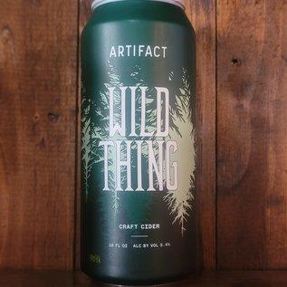 Artifact Wild Thing Cider, 5.4% ABV, 16oz Can