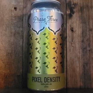 Phase Three Pixel Density IPA, 6.5% ABV, 16oz Can