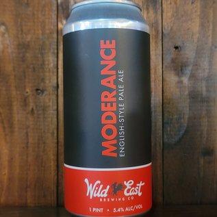 Wild East Moderance English Style Pale Ale (ESB), 5.4% ABV, 16oz Can