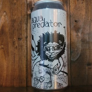 Off Color Aqua Predator Farmhouse Ale, 6.5% ABV, 16oz Can