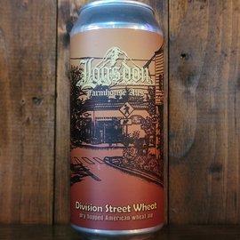 Logson Division Street Wheat Ale, 5.5% ABV, 16oz Can