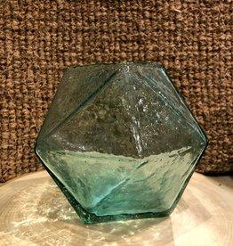 Glass Geometric Vase