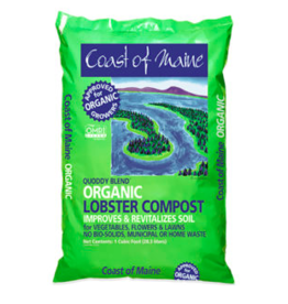 Coast of Maine Lobster Compost, 1 cf