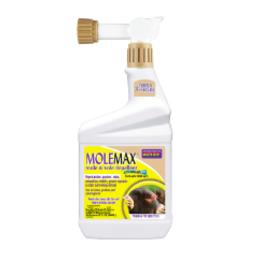 MoleMax Mole & Vole Repellent Spray, 32 oz