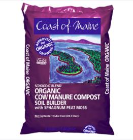 Schoodic Blend Cow Manure Compost, 1 cf