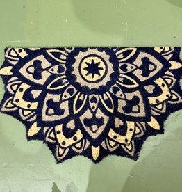 Printed Mandala Coir Doormat