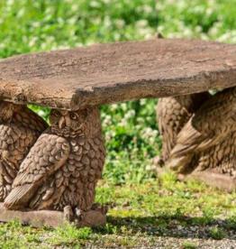 Campania Owl Garden Bench