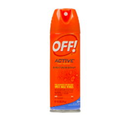 OFF! Active Personal Insect Repellent, 6 oz