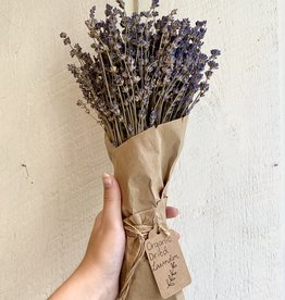 Organic Dried Lavender Bundle