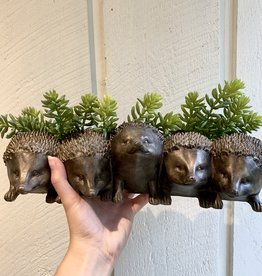 Resin Hedgehog Planter