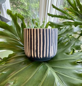Westview Blue Stripe Pot