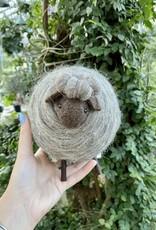 "Grey Sheep, 6.5""H"